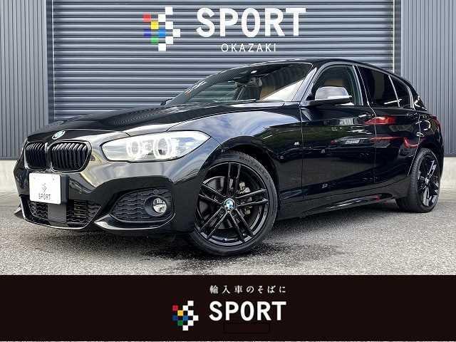 BMW 118d MSport エディションシャドー 限定車 アクティブクルーズコントロール インテリジェントセーフティ 純正HDDナビ バックカメラ ブラウンレザーシート シートヒーター コンフォートアクセス LEDヘッドライト ETC 純正AW
