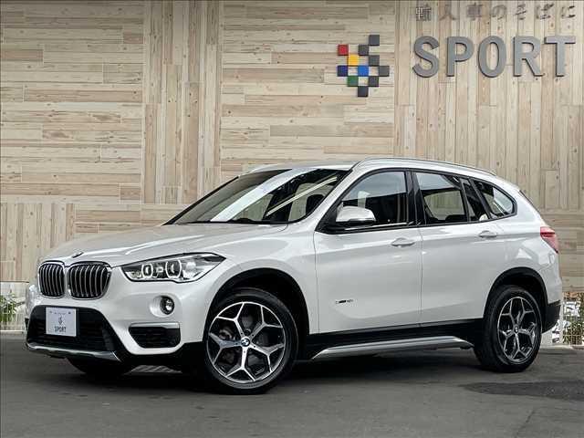 BMW sDrive 18i xLine アクティブクルーズコントロール インテリセーフ 純正ナビ シートヒーター パワーバックドア ヘッドアップディスプレイ コンフォートアクセス ハーフレザー LEDヘッド 純正アルミホイール