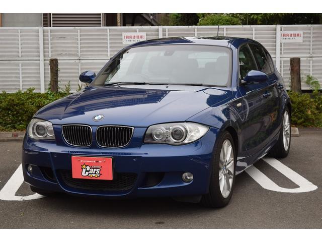 BMW 130i Mスポーツ サンルーフ 革シート キーレス ナビ 17アルミホイール エアバッグ ディーラー車 フル装備 HIDヘッドライト ETC スマートキー