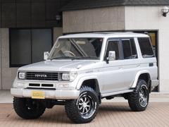 ランドクルーザープラドEXワイド 4WD リフトUP 新品タイヤ サンルーフ