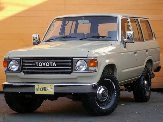 トヨタ GX ガソリン5速マニュアル車 ランクル60丸目フェイス換装
