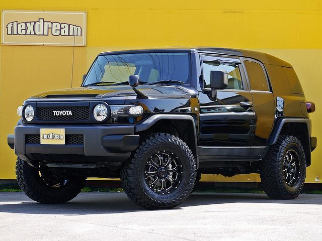 トヨタ ブラックカラーPKG ルーフパネル同色ペイント リフトアップ