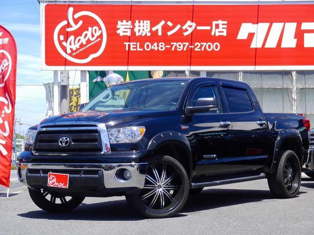 米国トヨタ クルーマックス4WD新並ローダウン24インチAWフルセグナビ