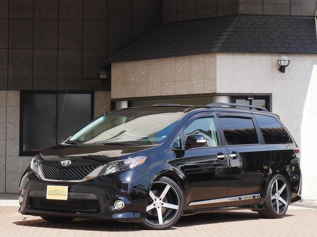 米国トヨタ SE 新並 8インチナビ リアモニター 電格ドアミラー