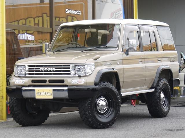 トヨタ EX ディーゼルターボ 1KZ サンルーフクラシックホイール