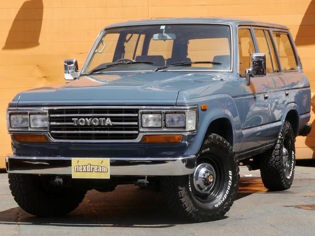 トヨタ GX ガソリン5速マニュアル車 ランクル60角目4灯フェイス
