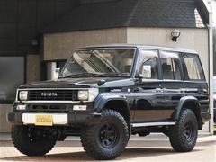 ランドクルーザープラドSXワイド 新品2インチUP 新品タイヤ サイバーナビ