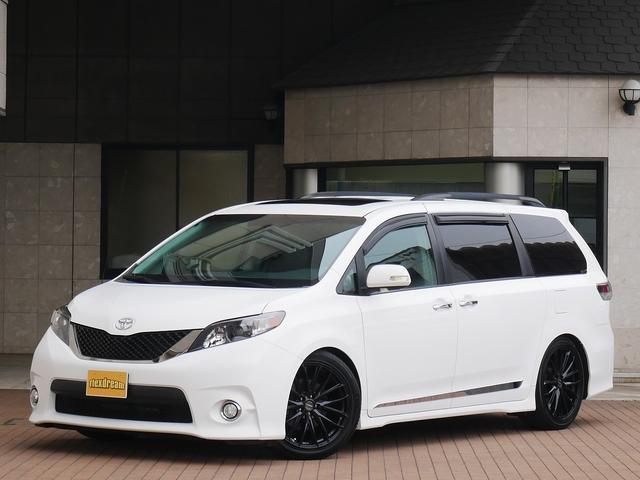 米国トヨタ SE 新並 フルセグナビ リアモニター 電格ドアミラー