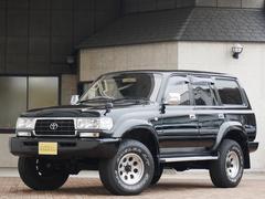 ランドクルーザー80VX−LTD 軽油 最終型 新品ヘッドライト ブラックCP