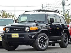 FJクルーザーブラックカラーパッケージ 1オーナー 新品タイヤ5本 ナビ付