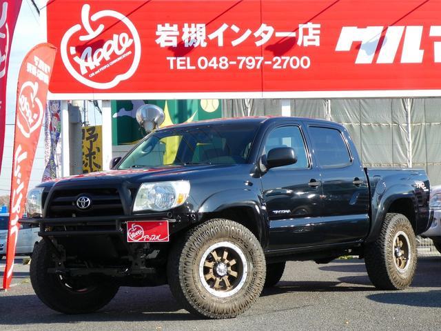 米国トヨタ 4WD 新並 フルセグナビ 16インチAW チューブバンパー