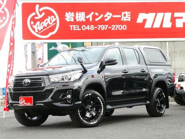 トヨタ Z BlackRallyED 4WD 荷台LINE-X塗装