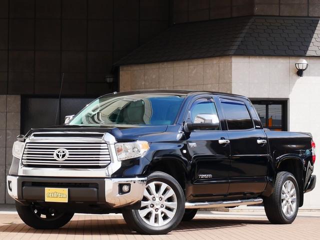 米国トヨタ 新平 クルーMAX リミテッド4WD 本革 トノカバー ナビ