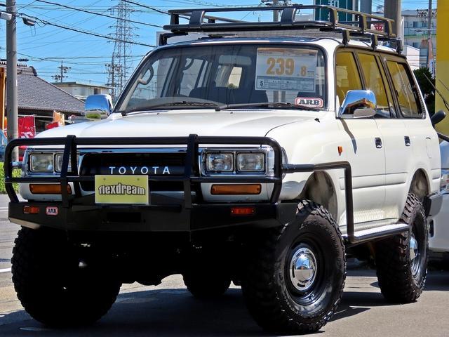 トヨタ ランドクルーザー80 VX-LTD クラシックコンプリート 角目四灯 リフトアップ