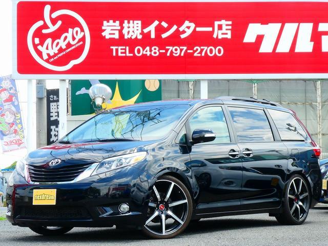米国トヨタ リミテッド 新並 茶革 TEIN車高調 8インチナビ 後席M