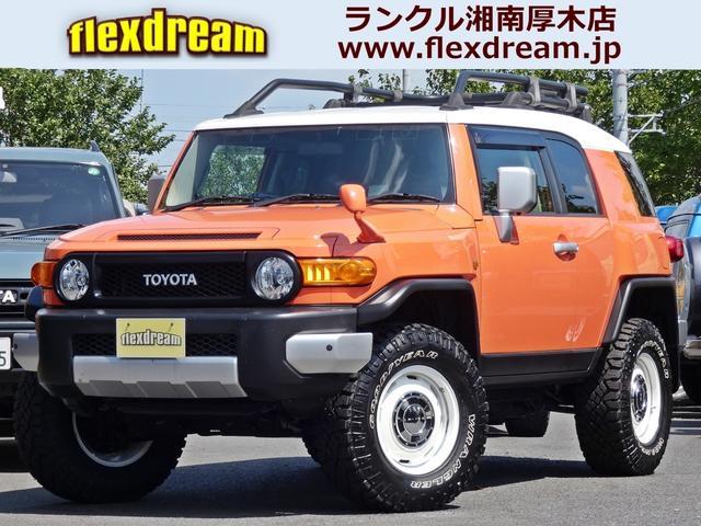 トヨタ FJクルーザー 4WD 新品2インチアップコイル ペンドルトンシートカバー