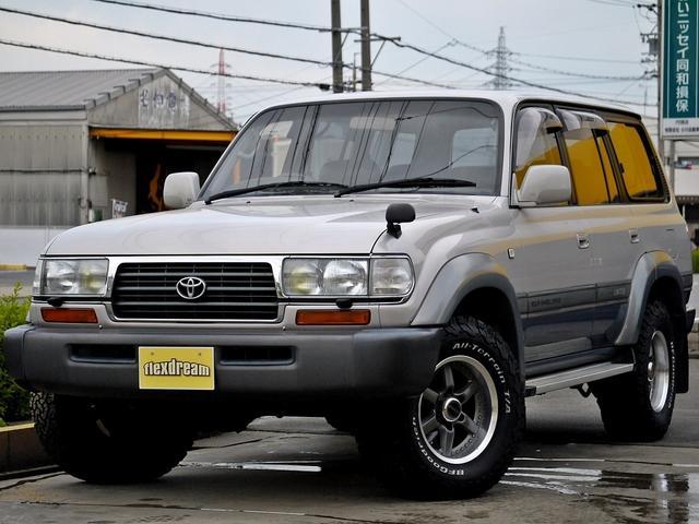 トヨタ VX-LTD 最終モデル 革シート 背面タイヤ