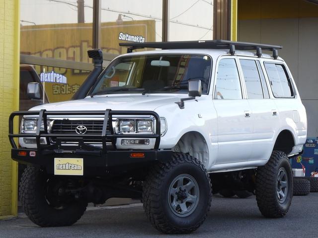 トヨタ ランドクルーザー80 GX 角目4灯 リフトアップ