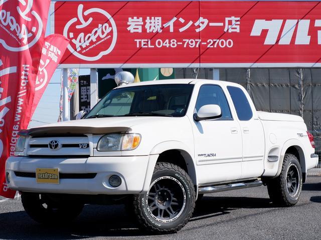 米国トヨタ タンドラ 新並ステップサイドTRDスポーツPKG HDDナビ トノカバ
