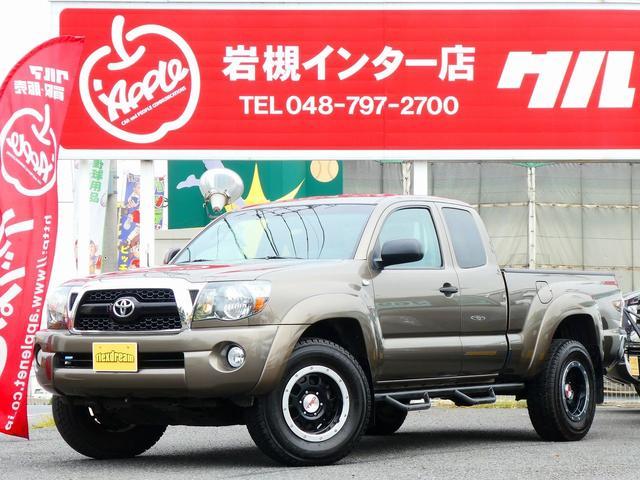 米国トヨタ アクセスキャブ 新車並行 ナビ