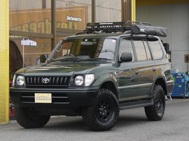 トヨタ ランドクルーザープラド TX 丸目フェイス換装 クラシックスタイル