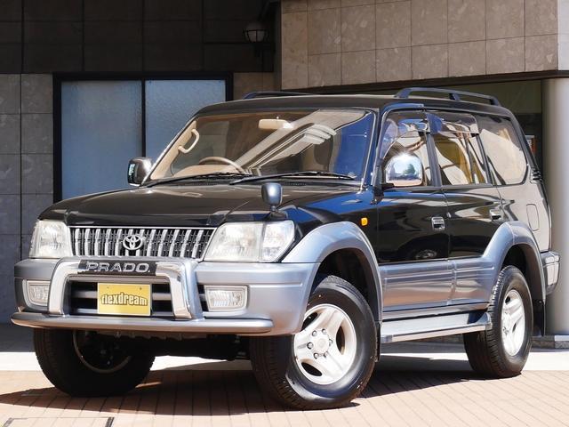 トヨタ TX-LTDワイド 2.7L 最終型 茶内装 純正黒ツートン