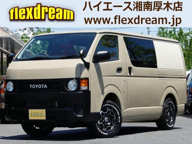 トヨタ S-GL4WD flexdream丸目換装 新品アルミSET