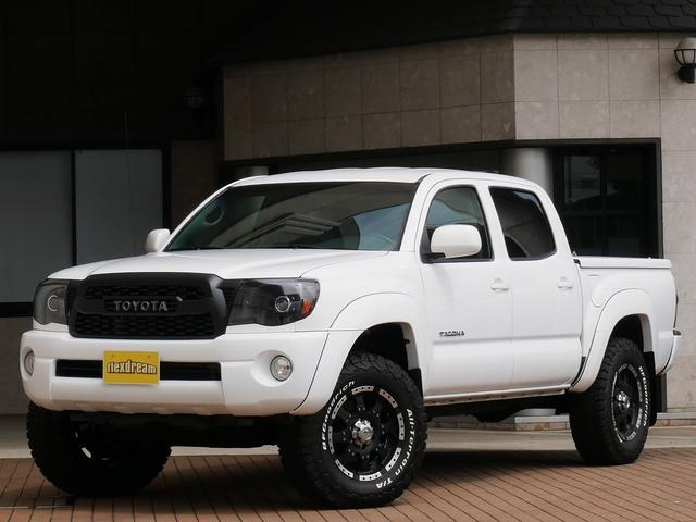 米国トヨタ 新並 ダブルキャブ4WD トノカバー リフトUP 新品タイヤ