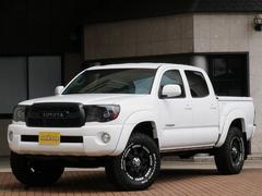 タコマ新並 ダブルキャブ4WD トノカバー リフトUP 新品タイヤ