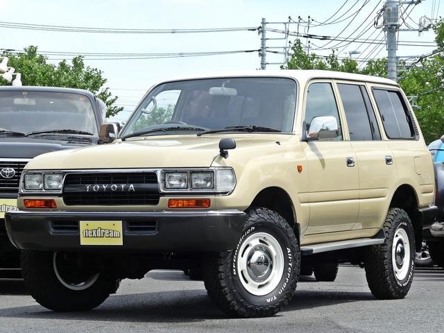 トヨタ ランドクルーザー80 GX ナローボディー観音開き 新品アルミタイヤ