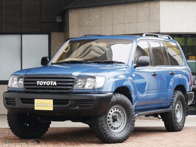 トヨタ ランドクルーザー100 Gセレ 輸出スタイル LINE-Xグリル マルチレス