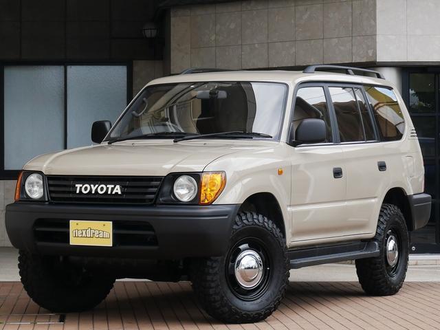 トヨタ ランドクルーザープラド TX-LTDディーゼル8人乗フラットシートPENDLETON
