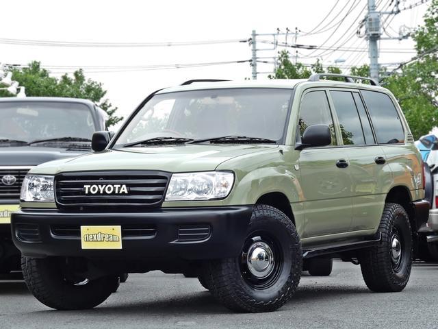 トヨタ ランドクルーザー100 VX-LTD 新品コーディロイカバー 新品タイヤ&アルミ
