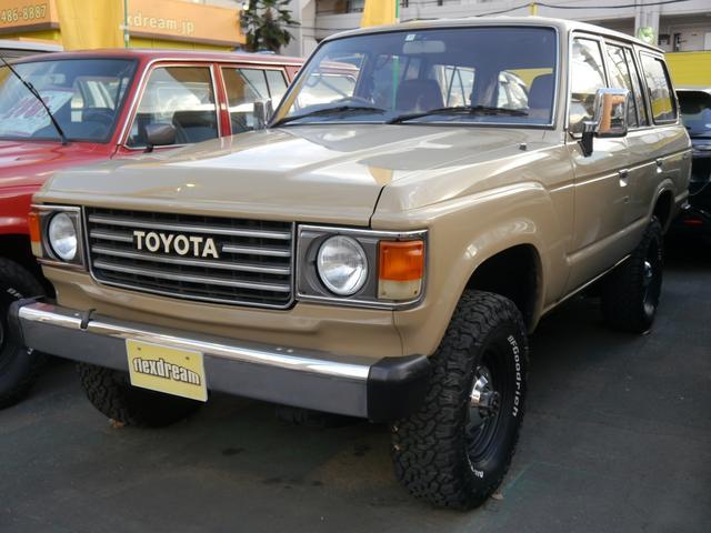 トヨタ ランドクルーザー60 VX 丸目フェイス換装 平屋根換装 ガソリンオートマ
