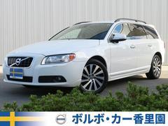 ボルボ V70T4 SE 認定車 黒本革 純正ナビ地デジ セーフティPKG