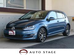 VW ゴルフTSIハイラインブルーモーションテクノロジー 禁煙 1オーナ
