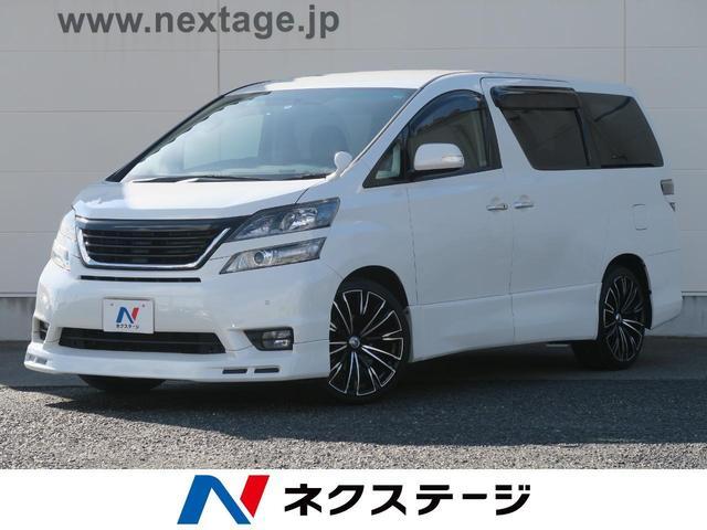 トヨタ 2.4Z プラチナセレクションII 社外10型SDナビ