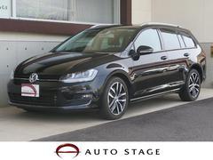 VW ゴルフヴァリアントTSIハイラインブルーモーションテクノロジー 純正SDナビ