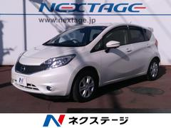 ノートX DIG−S Vセレクション+セーフティ 純正ナビ 禁煙車