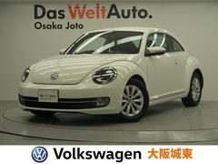 VW ザ・ビートルデザイン 認定車 1オーナー 社外ナビ地デジ ETC HID