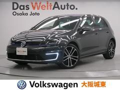 VW ゴルフGTEベースグレード アダプティプクルーズコントロール 保証書
