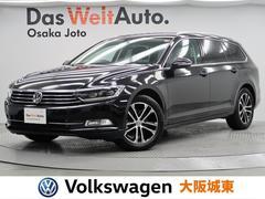 VW パサートヴァリアントTSIコンフォートライン 1オーナー 禁煙 純正ナビ LED