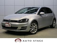 VW ゴルフTSIハイラインブルーモーションテクノロジー ナビ ACC