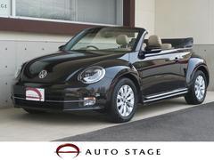 VW ザ・ビートル・カブリオレベースグレード 禁煙車 純ナビ HID 本革 純正16AW