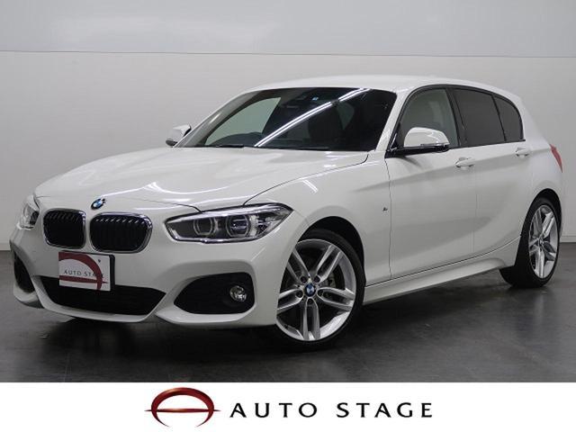BMW 118i Mスポーツ 純正ナビ LED 純正OP18AW