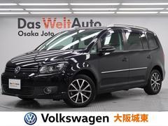 VW ゴルフトゥーランTSI ハイライン 認定中古車・純正SDナビ・バックカメラ