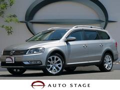 VW パサートオールトラック2.0TSI 純正SDナビ フルセグ 黒革シート キセノン