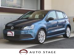 VW ポロブルーGTブルーモーション バイキセノンPKG ナビ 禁煙車