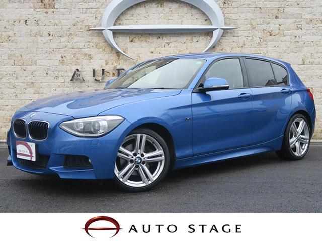 BMW 116i Mスポーツ 純正HDDナビ 純正OP18アルミ
