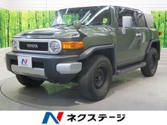 FJクルーザーベースグレード 社外SDナビ フルセグ 4WD バックカメラ